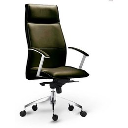 Кресло руководителя Арредо (кожа)