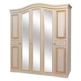 Шафа 5-и дверна Світ меблів Луіза патіна