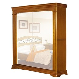 Шкаф-купе 2-х дверный Elegance с зеркалами