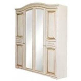 Шафа Світ меблів Луіза 4-х дверна патіна