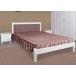 Ліжко двоспальне Севілья біла