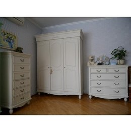 Шкаф 3-х дверный B004 Прованс