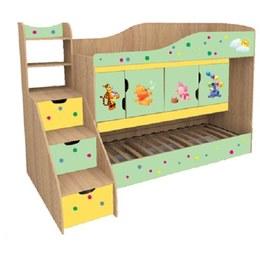 Кровать детская Никита двуъхярусная