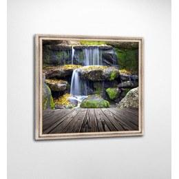 Картина FP-131 JA06 Панно Водопад в раме+