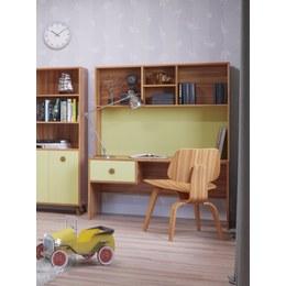 Стол детский письменный Колибри с надстройкой