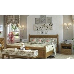 Кровать двуспальная Марсель Текстиль