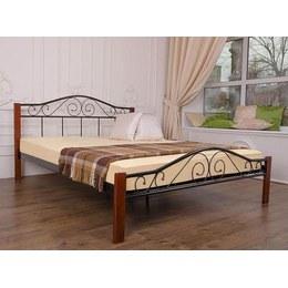 Кровать Айрон Респект вуд 1,6