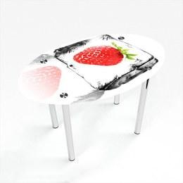 Стіл обідній Овальний Ice berry