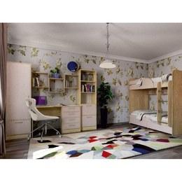 Дитяча кімната Юніор дуб Сонома/капучино