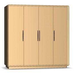 Шкаф 4-х дверный Модена 4Д