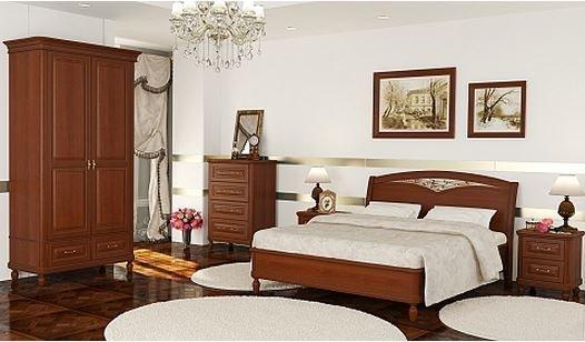 купить спальня омега комфорт дерево радо каталог мебели фото